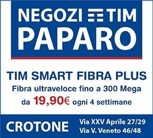 Tim Paparo – Banner 2 Spalla Grande