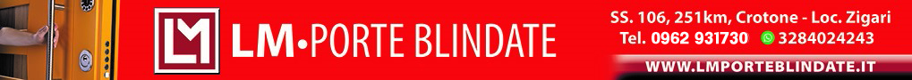 Banner Lm Porte Blindate