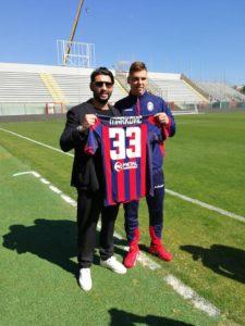 Raffaele Vrenna e Luka Markovic