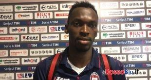 Simy: «Punto importante, ora testa all'Udinese»