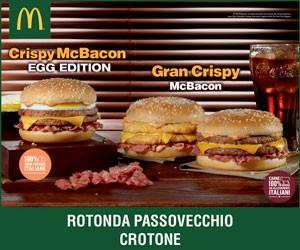 McDonald's – McBacon Grispy