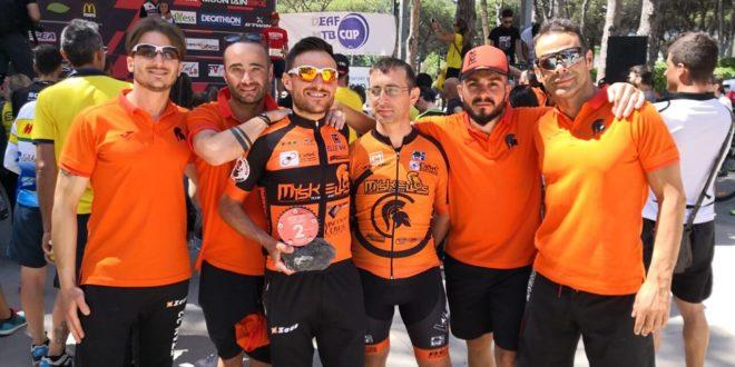 Vesuvio Mountain Bike: ottime prestazioni per i Myskellos