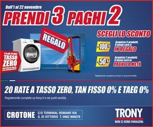 Trony – Laterale – scadenza: 22/11/2018