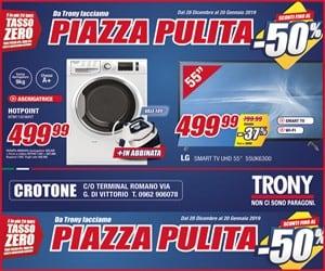 Trony – Laterale – Scadenza: 20/01/2019