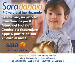 Sara assicurazioni – laterale – Scad. 31/03/2019