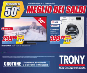 Trony – Laterale – Scad- 21/01/2020