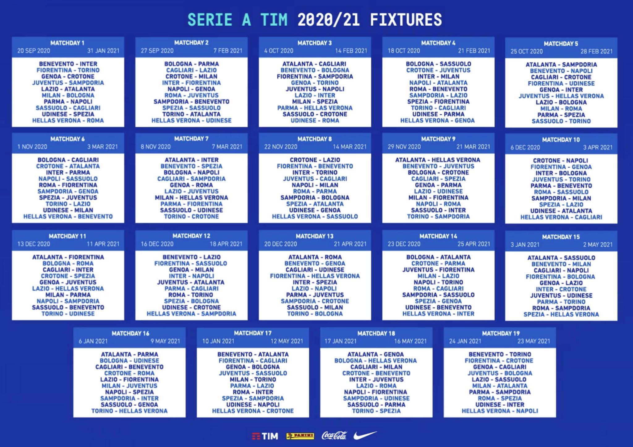 Serie A Svelato Il Calendario Il Crotone Esordisce Contro Il Genoa Ilrossoblu It