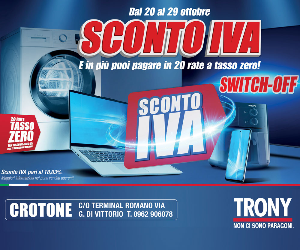 Trony Laterale – Scad. 19/10/2021